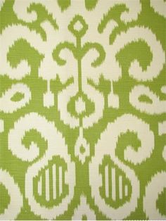 Fergana Lime - Duralee fabric, Suburban home fabrics, Ikat print fabric Multi purpose decorator fabric. Discount Wallpaper, Pillow Inspiration, Ikat Pattern, Ikat Print, Ikat Fabric, Cool Rugs, Tropical Decor, Home Decor Fabric, Fabric Wallpaper