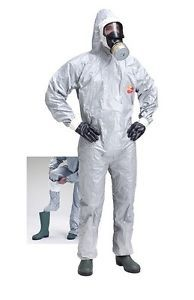 New nuclear radiation and chemical safety protection suit (coveralls) with socks