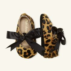Briley Haircalf Slipper - Shoes Layette Girl (Newborn-9M) - Ralph Lauren UK