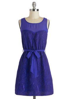Creighton University Bluejays The Current Time Dress, #ModCloth