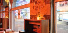 Bars in Zurich – Plaza Cava Aperobar. Hg2Zurich.com.