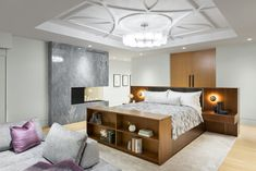 Interior design by Madeleine Design Group in Vancouver, Canada. *Re-pin to your inspiration board* Inspiration Boards, Vancouver, This Is Us, Canada, Ocean, Group, Interior Design, Bedroom, Furniture