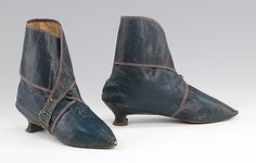 Women's Leather Boots 1795-1810