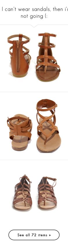 """""""if I can't wear sandals, then i'm not going (:"""" by sammylynn ❤ liked on Polyvore featuring shoes, sandals, strappy shoes, slim shoes, strap sandals, braided sandals, billabong, flats, flat sandals and sapatos"""