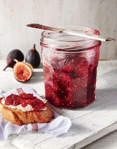 Fig and Lemon Refrigerator Jam Recipe