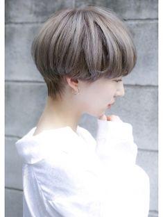 Short Hair Tomboy, Short Hair Dos, Korean Short Hair, Girl Short Hair, Shot Hair Styles, Curly Hair Styles, Short Hair Designs, Tomboy Hairstyles, Bowl Cut