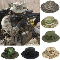5ced3b43eb0 Tactical Combat Camo Hiking Cap Outdoor Army Sun Block Hat Cap Hiking