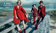 A Red-Letter Day: Scarlet Fashion is In for ELLE Singapore - Fashion Gone Rogue