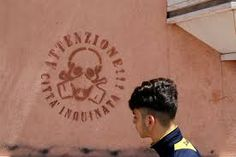 The Italian town where a deadly dust is killing its residents Sick Kids, Abc News, Graffiti, How To Become, Symbols, Interesting Stuff, Google, Icons, Graffiti Illustrations