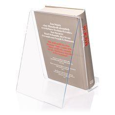 http://www.prospekthalter.com/Warentraeger/Buchstaender/DIN-A5-Buchstaender-als-Lesestaender-oder-Buchstuetze.html
