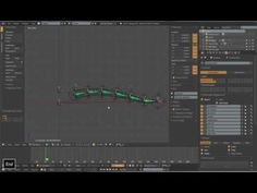Blender Rigging Advanced Tentacle Rig Part 3 Animation Tutorial, 3d Animation, Modeling Tips, Blender 3d, Tentacle, Rigs, Youtube, Tutorials, Wedges