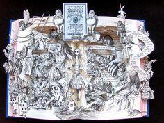 Алиса в Зазеркалье. 3D-иллюстрации от Келли Берри