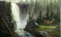Have you ever tried painting a waterfall, only to have it look flat? Watch Kevin show you some techniques for painting a waterfall that will help you with your future waterfall paintings. For more information about full length DVD lesson and brushes, please visit: www.paintwithkevin.com