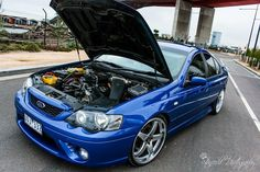 Blue Cars, Aussie Muscle Cars, Ford Falcon, Ford Gt, Falcons, Vehicles, Ideas, Barbell, Hawks
