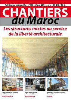 Chantiers du Maroc : Magazine mensuel de l'actualité du #BTP et du secteur de la #construction au Maroc