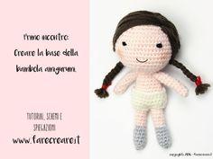 Primo schema - la bambola a uncinetto e la lingerie.