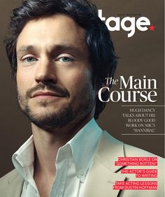 Hugh Dancy Explores the Unknown on 'Hannibal' Photographed by Stephanie Diani for Backstage Magazine
