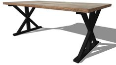 table liege, maisons du monde, ref 130154 prix 799€ - 3D Warehouse