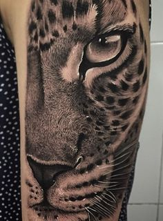 Discover recipes, home ideas, style inspiration and other ideas to try. Girl Arm Tattoos, Arm Tattoos For Women, Head Tattoos, Body Art Tattoos, Sleeve Tattoos, Tattoos For Guys, Lion Arm Tattoo, Tiger Tattoo, Cheetah Tattoo