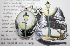 Seriously need this. Narnia lampost necklace. Please please please don't make me buy this for myself.
