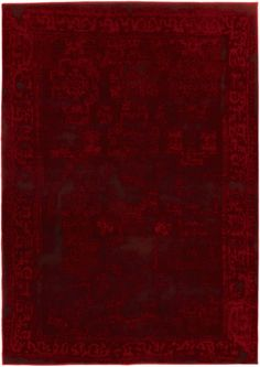 "Wash Red Rug 5'5"" X 7'8"" 