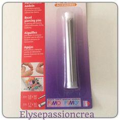 50 Aiguilles perceuses de perles en pâte polymère. : Pâtes polymères et accessoires par elyse-passion-crea
