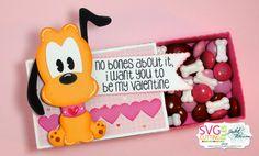 Pluto Mini Candy Box w/ M&Ms and Bone Candy