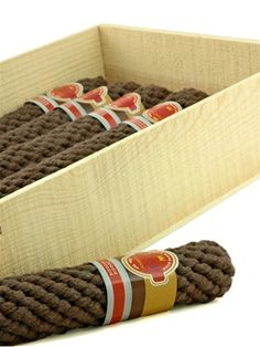 Stogies Rope Cigar Dog Toy- for Avi, he's like an old man with four legs...