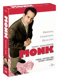 Monk - Season 1 e Season 1, Movies, Movie Posters, Films, Film Poster, Popcorn Posters, Cinema, Film Books, Film Posters
