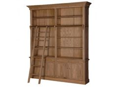 Weathered Oak Library Bookcase £2,099.00