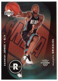 Dahntay Jones RC # 104 - 2003-04 Upper Deck Standing O Basketball NBA Rookie