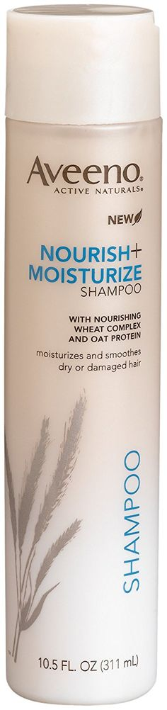 Aveeno Nourish  Moisturize Shampoo, 10.5 Fluid Ounce Bottles (Pack of 3) * Continue to the product at the image link.