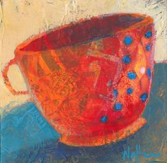 Coffee Please Original Painting by ShelliWalters on Etsy