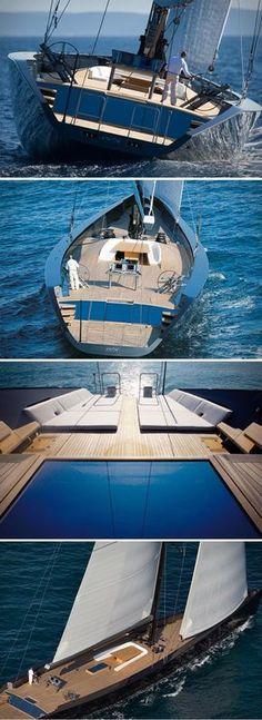 Esense 143 Mega Yacht par Wally - Journal du Design