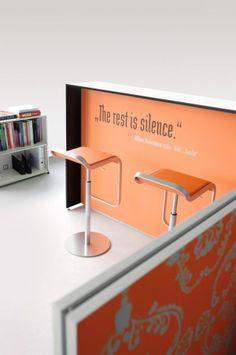 Printed wall panels / counters & cool stools