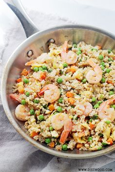 Shrimp Fried Rice | www.diethood.com