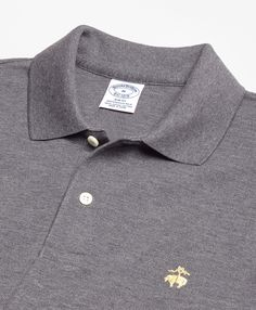 Slim Fit Supima® Cotton Performance Polo Shirt-Basic Colors - Brooks Brothers