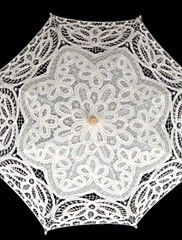 Guarda-chuva Renda Casamento/Mascarilha