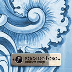 Boca do Lobo | Finishes . Hand Painted Tile #bocadolobo #furnituredesign #luxurydesign #colordesign #exclusive www.bocadolobo.com/