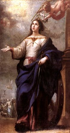 Sainte Catherine d'Alexandrie - Bartolomé Esteban Murillo