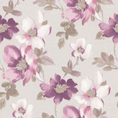 Fine Decor Marissa Wallpaper - Plum