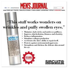 The Best Eye Cream for Dark Circles? Men's Journal has the answer at sircuitskin.com!