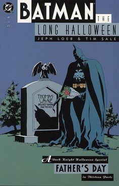 Cover for Batman: The Long Halloween (DC, 1996 series) #9 _____ UN _____
