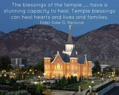 A quote from Elder Dale G. Renlund during the LDS Church's 188th annual General Conference on Saturday, March 31, 2018.