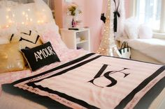 Check out ** Parisian / Victoria's Secret bed room decor, seems like Gabi Demartino's ...