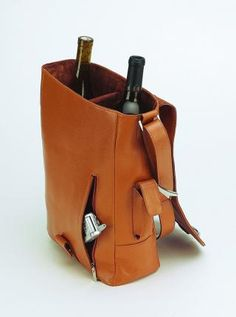 Wine Tote, wine bottle carrier | BestGiftsForWineLovers.com