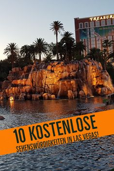 10 Kostenlose Sehenswürdigkeiten in Las Vegas! - My Travel Diary USA! - 10 Kostenlose Sehenswürdigkeiten in Las Vegas! There are many free attractions in Las Vegas if you need a break from gambling. Las Vegas Hotels, Las Vegas Restaurants, Las Vegas Free, Las Vegas Attractions, Paris Hotels, Südwesten Usa, Backpacking Europe, Road Trip Usa, Foodie Travel