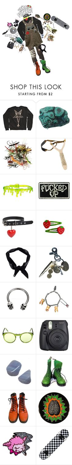 """dream aesthetic 🐸👻💓"" by teething ❤ liked on Polyvore featuring Actual Pain, Boohoo, AllSaints, Ancient Greek Sandals, Fuji, Vegetarian Shoes, Dr. Martens and Equipment"