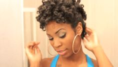 7 Sexy Natural Hair Styles for Date Night