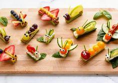 Gezonde traktatie #groenten #fruit #bento